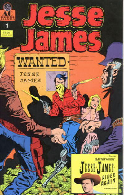 JESSE JAMES #1 (AC Comics, 1990)