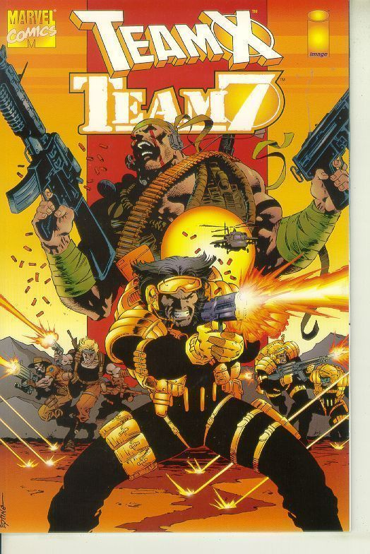 TEAM X / TEAM 7 (Image Comics) NM!