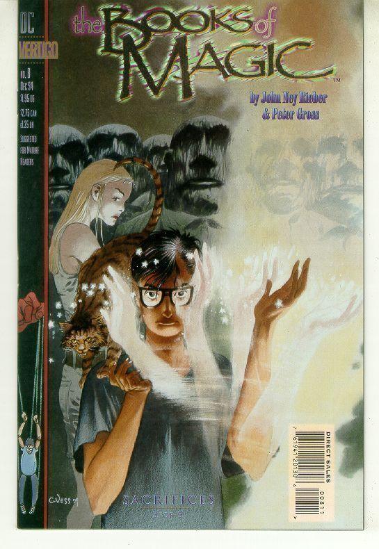BOOKS of MAGIC #8 (Vertigo) NM!