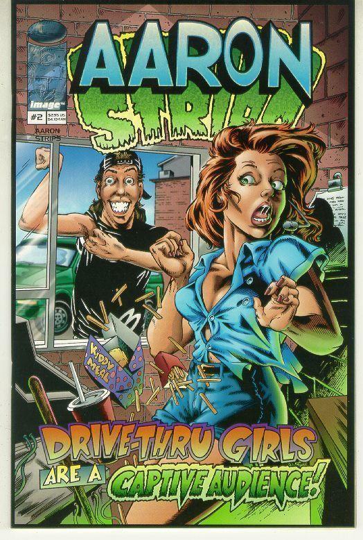 AARON STRIPS #2 (Image Comics, 1997) NM!