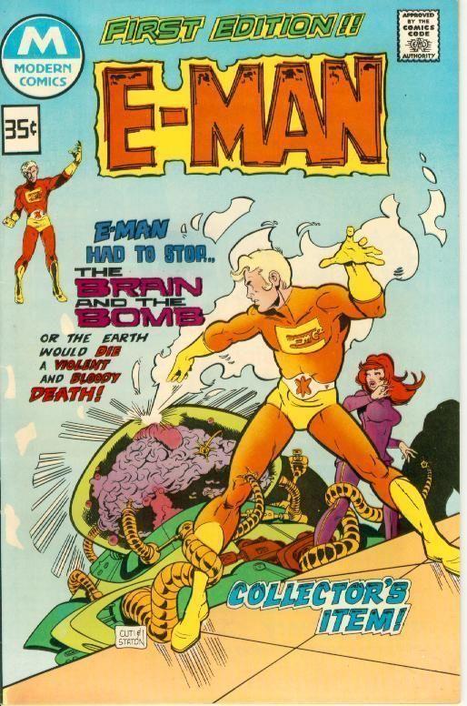 E-MAN #1 (Modern Comics Reprint, 1978)