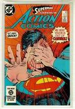 Action Comics #558 Nm! ~ Superman! - $3.00