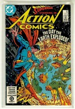 Action Comics #550 Nm! ~ Superman! - $3.00
