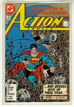 Action Comics #585 Nm! ~ Superman! - $2.00