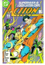 Action Comics #589 ~ Superman! - $1.00