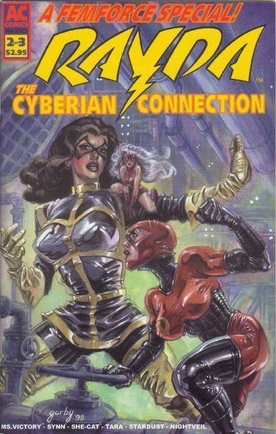 RAYDA: THE CYBERIAN CONNECTION #2 (AC Comics) NM!