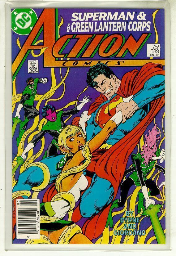 ACTION COMICS #589 NM! ~ SUPERMAN!