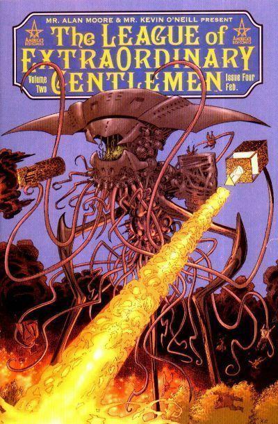 LEAGUE of EXTRAORDINARY GENTLEMEN VOLUME TWO #4 (ABC) NM! ~ Alan Moore