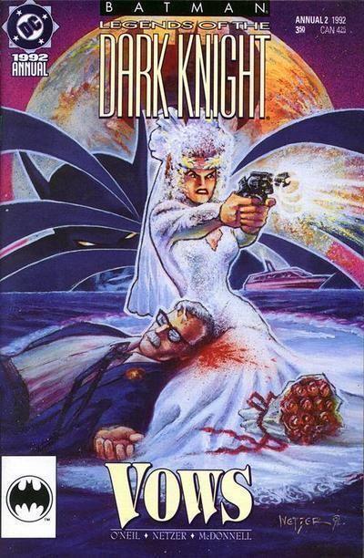 BATMAN: LEGENDS of the DARK KNIGHT ANNUAL #2 (1991) NM!