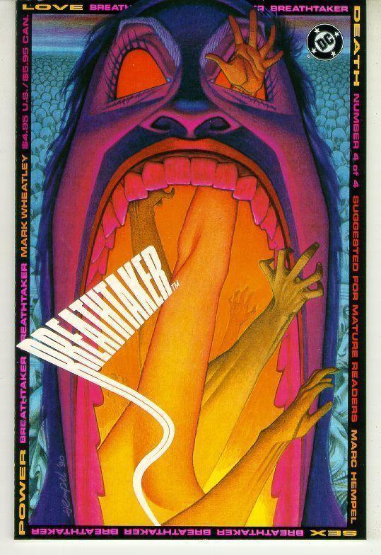 BREATHTAKER #4 (DC Comics, 1990) NM!