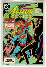 Action Comics #562 Nm! ~ Superman! - $2.00