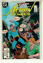 Action Comics #578 Nm! ~ Superman! - $2.00
