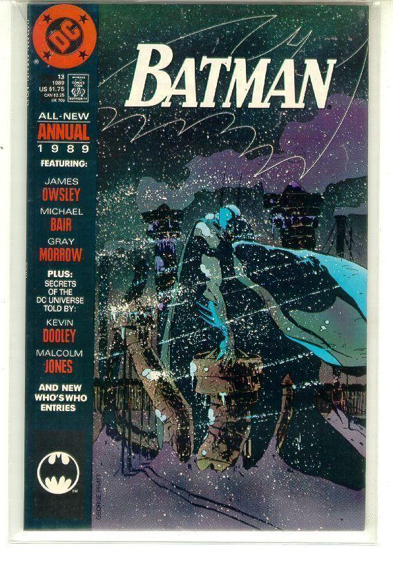 BATMAN ANNUAL #13 (1989) NM!