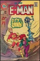 E-MAN #4 (Charlton Comics, 1974) - $3.00