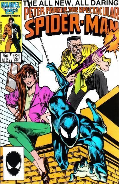 SPECTACULAR SPIDER-MAN #121 (1976 Series) NM!