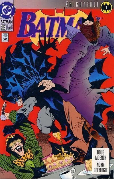 BATMAN #492 (1993) NM! ~ KNIGHTFALL!
