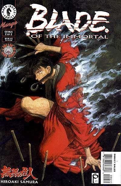 BLADE OF THE IMMORTAL: GENUS #2 NM!