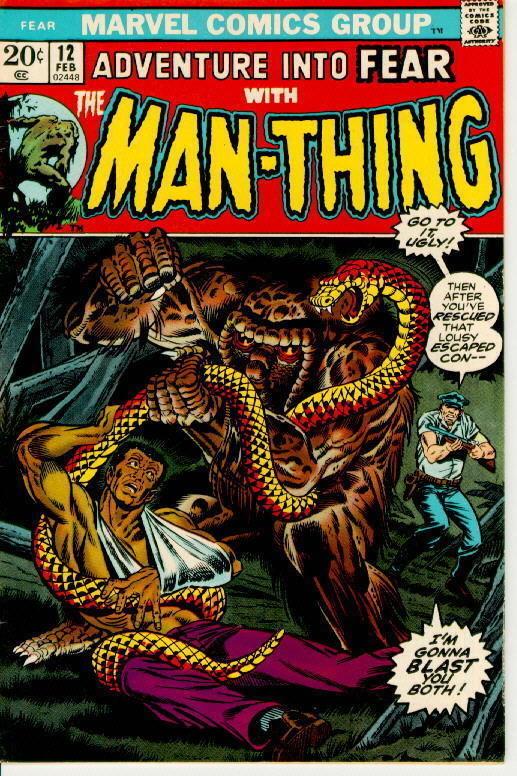 FEAR #12 ~ MAN-THING!