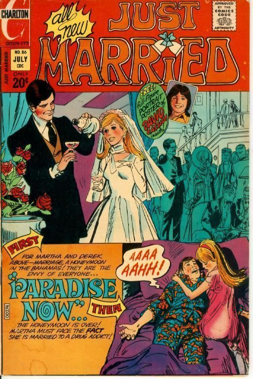 JUST MARRIED #86 (Charlton Comics, 1972)