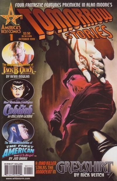 TOMORROW STORIES #1 (America's Best Comics) NM! ~ Alan Moore