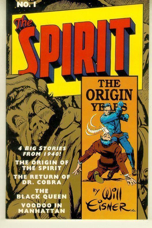 SPIRIT: The ORIGIN YEARS #1 (Kitchen Sink, 1992) NM!