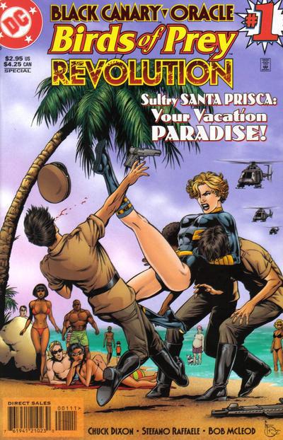 BIRDS of PREY: REVOLUTION #1 (1997) NM!
