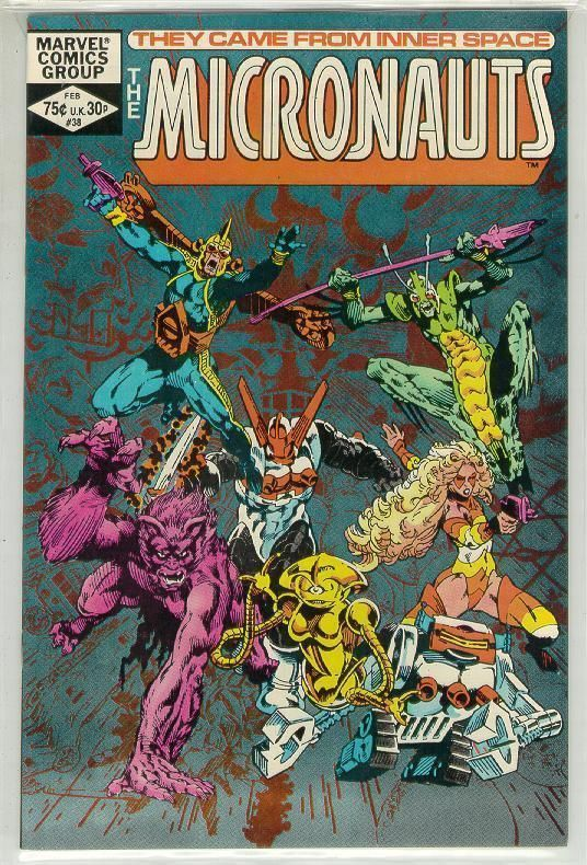 MICRONAUTS #38 (1979 Series) NM!