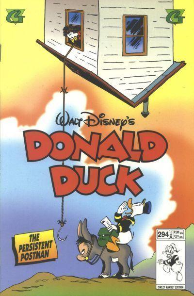 DONALD DUCK #294 (Gladstone) NM!