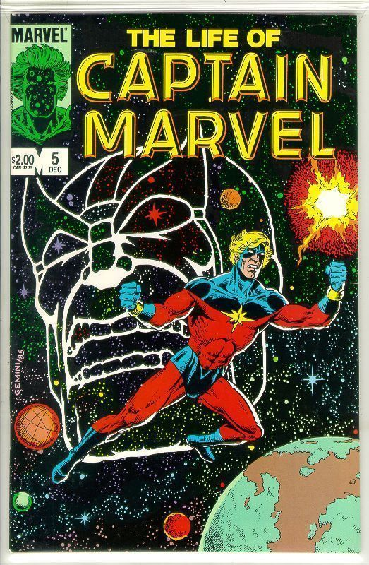 LIFE of CAPTAIN MARVEL #5 (1985) NM!