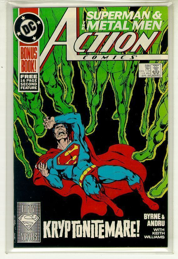 ACTION COMICS #599 NM! ~ SUPERMAN!
