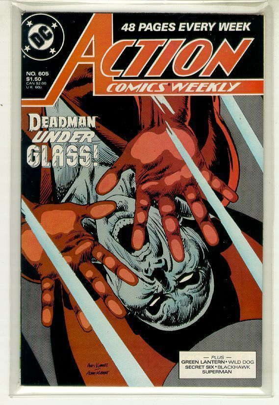 ACTION COMICS #605 NM! ~ SUPERMAN!