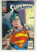 Action Comics #692 Nm! ~ Superman! - $2.00