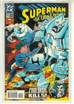 ACTION COMICS #695 (Newsstand) NM! ~ SUPERMAN! - $2.00