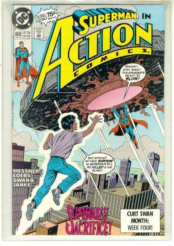 ACTION COMICS #658 NM! ~ SUPERMAN!
