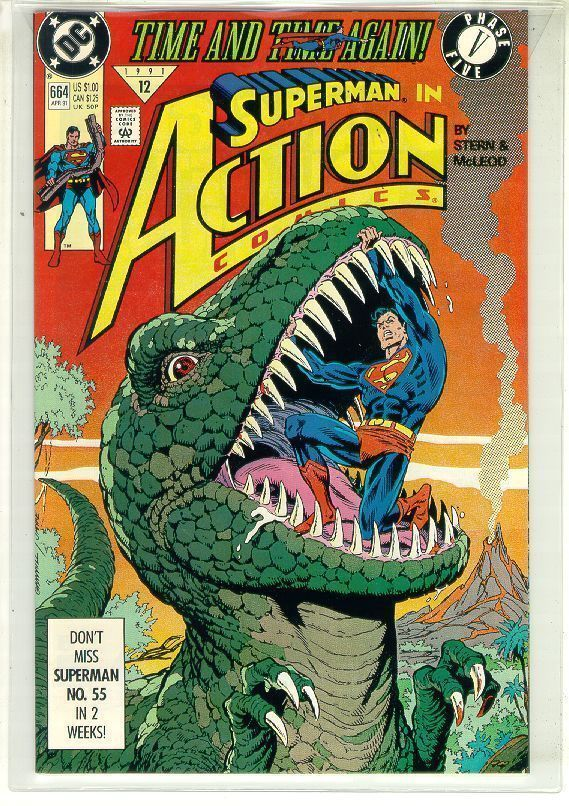 ACTION COMICS #664 NM! ~ SUPERMAN!