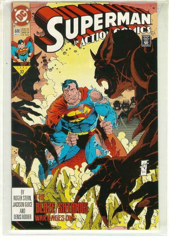 ACTION COMICS #680 NM! ~ SUPERMAN!