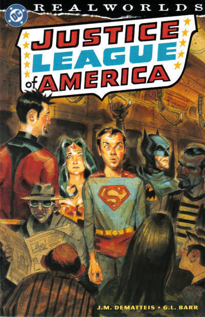 REALWORLDS JUSTICE LEAGUE of AMERICA (nn) NM!