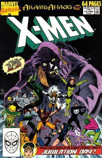 UNCANNY X-MEN ANNUAL #13 (1989) NM!