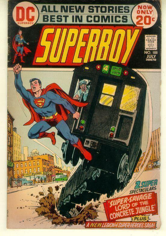 SUPERBOY #188 (1972)