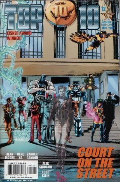 TOP 10 #12 (America's Best Comics) NM! ~ Alan Moore