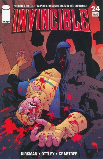 INVINCIBLE #24 (Image Comics) ~ Robert Kirkman