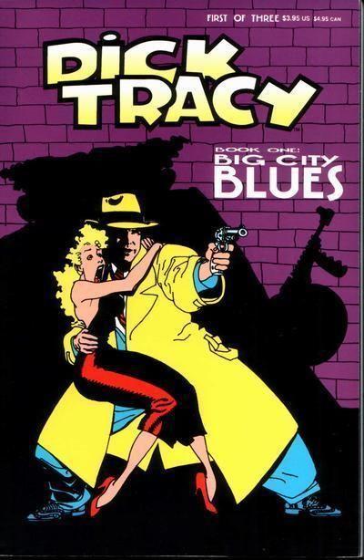 DICK TRACY #1 (Disney, 1990) NM!