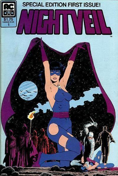 NIGHTVEIL #1 (AC Comics, 1984 Series) NM!