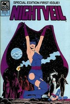 NIGHTVEIL #1 (AC Comics, 1984 Series) NM! - $3.50