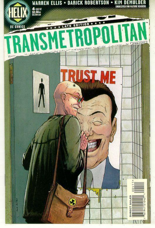 TRANSMETROPOLITAN #4 (Vertigo) NM! ~ Warren Ellis