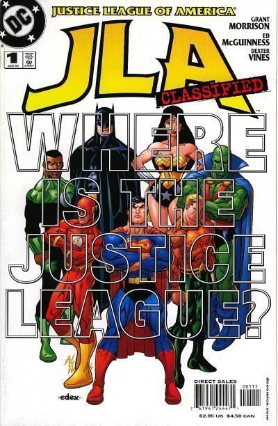 JLA CLASSIFIED #1 NM!