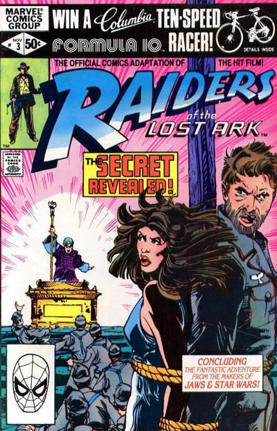 RAIDERS of the LOST ARK #3 (Marvel Comics, 1981) NM!