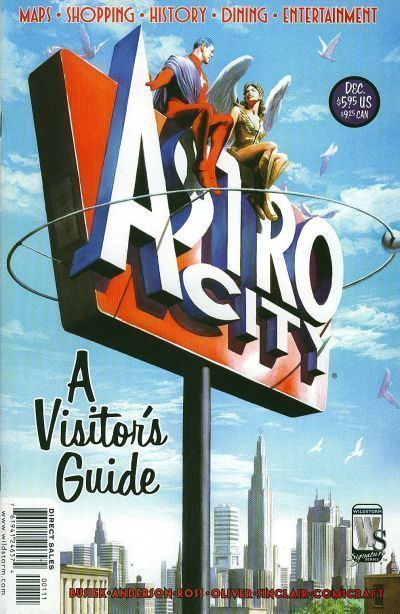 ASTRO CITY: A VISITOR'S GUIDE (2004) NM!