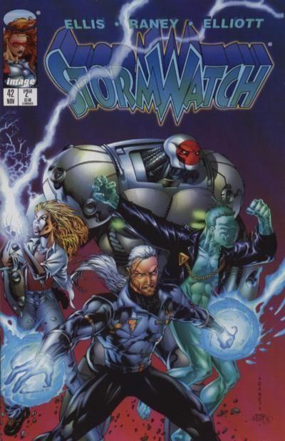 STORMWATCH #42 (Image Comics) NM!