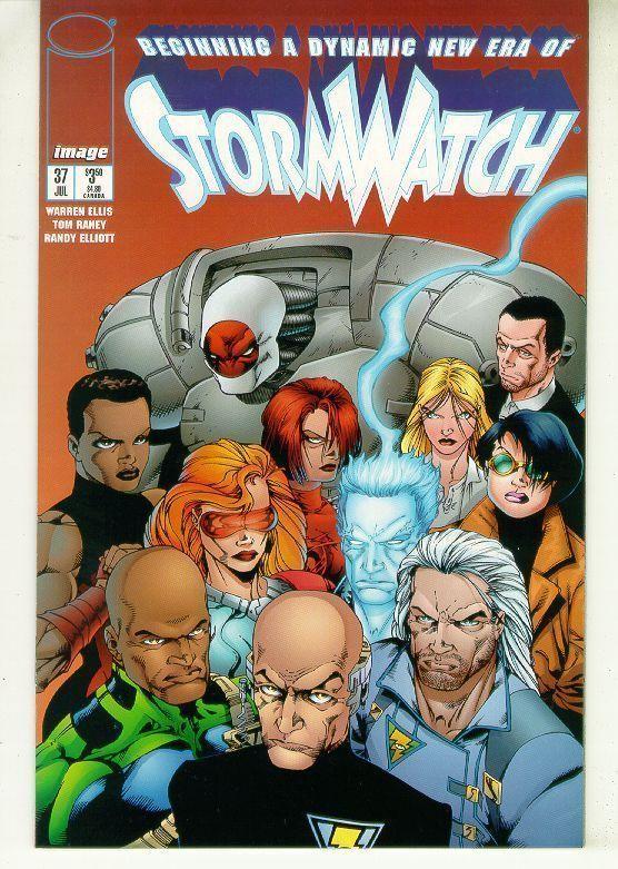 STORMWATCH #37 (Image Comics) NM!